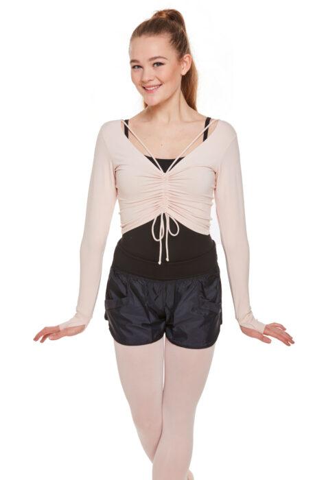 So Danca RDE1866 long sleeve dance top warm up