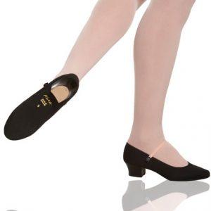 Katz Cuban heel syllabus character shoe