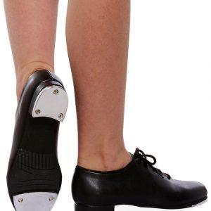 Leo's dancewear children's lace-up tap shoes
