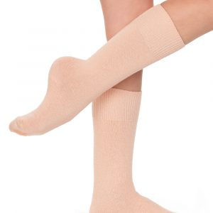 Silky Cotton Ballet Socks