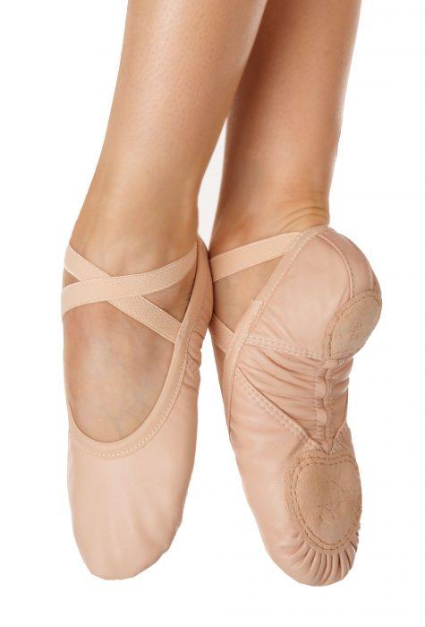 Wear Moi Pluton leather ballet shoe